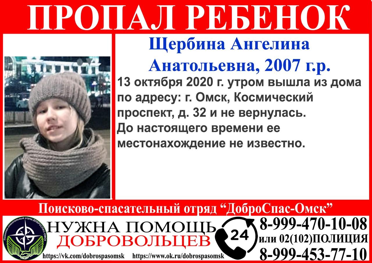 В Омске уже сутки не могут найти пропавшую девочку #Новости #Общество #Омск