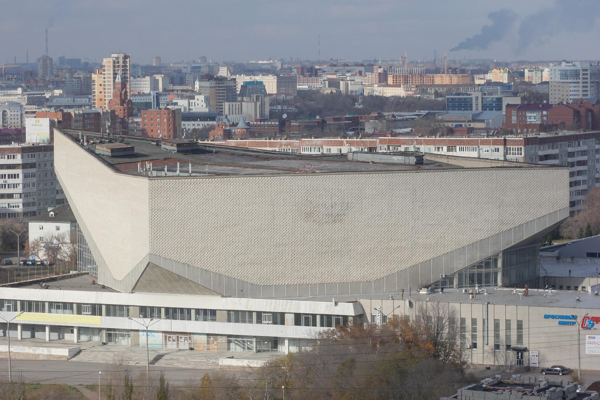 Крышу СКК имени Блинова в Омске отремонтируют к Новому году #Новости #Общество #Омск