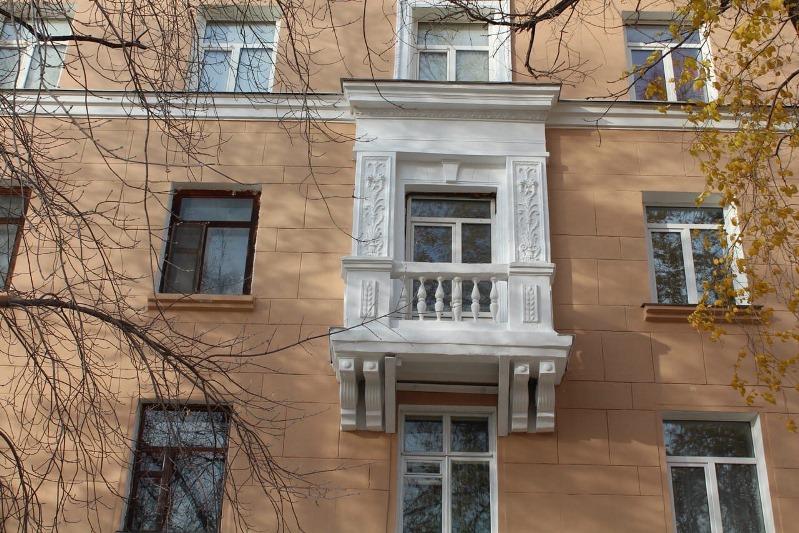 Перед зимой дома в Омске «одевают» в «шубы» #Омск #Общество #Сегодня