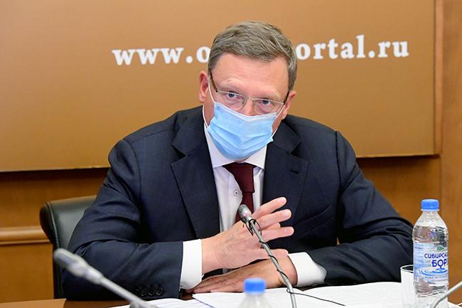 После скандала со скорыми Бурков решил прервать свой больничный #Новости #Общество #Омск