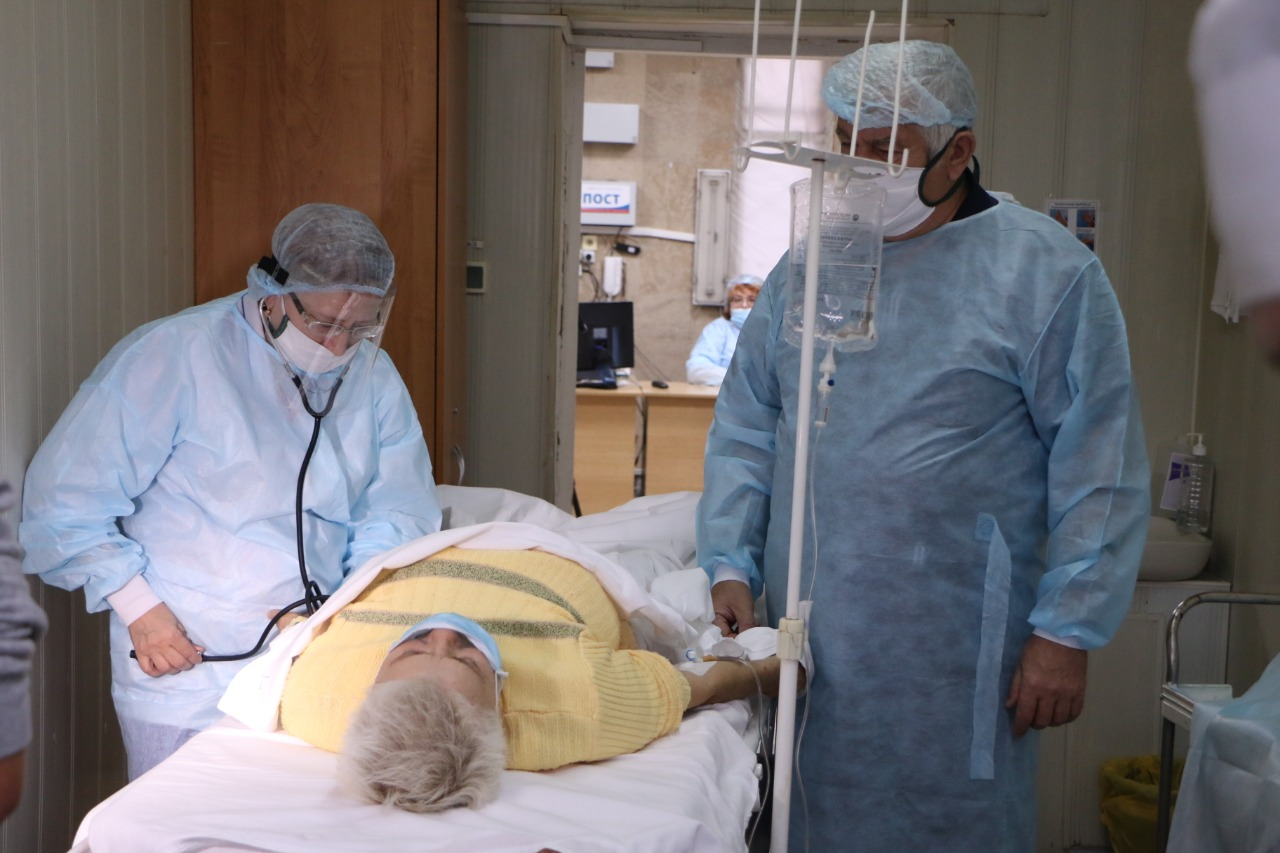 В омской больнице рассказали об увеличении потока пациентов в 3 раза #Новости #Общество #Омск