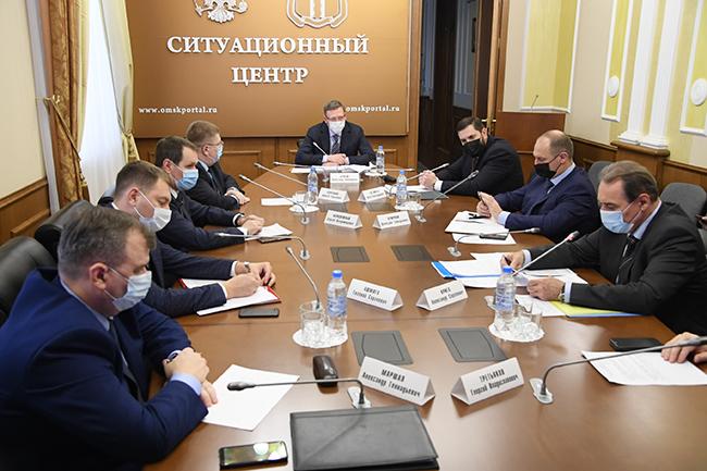 Бурков потребовал создать «праздничную новогоднюю атмосферу» #Омск #Общество #Сегодня