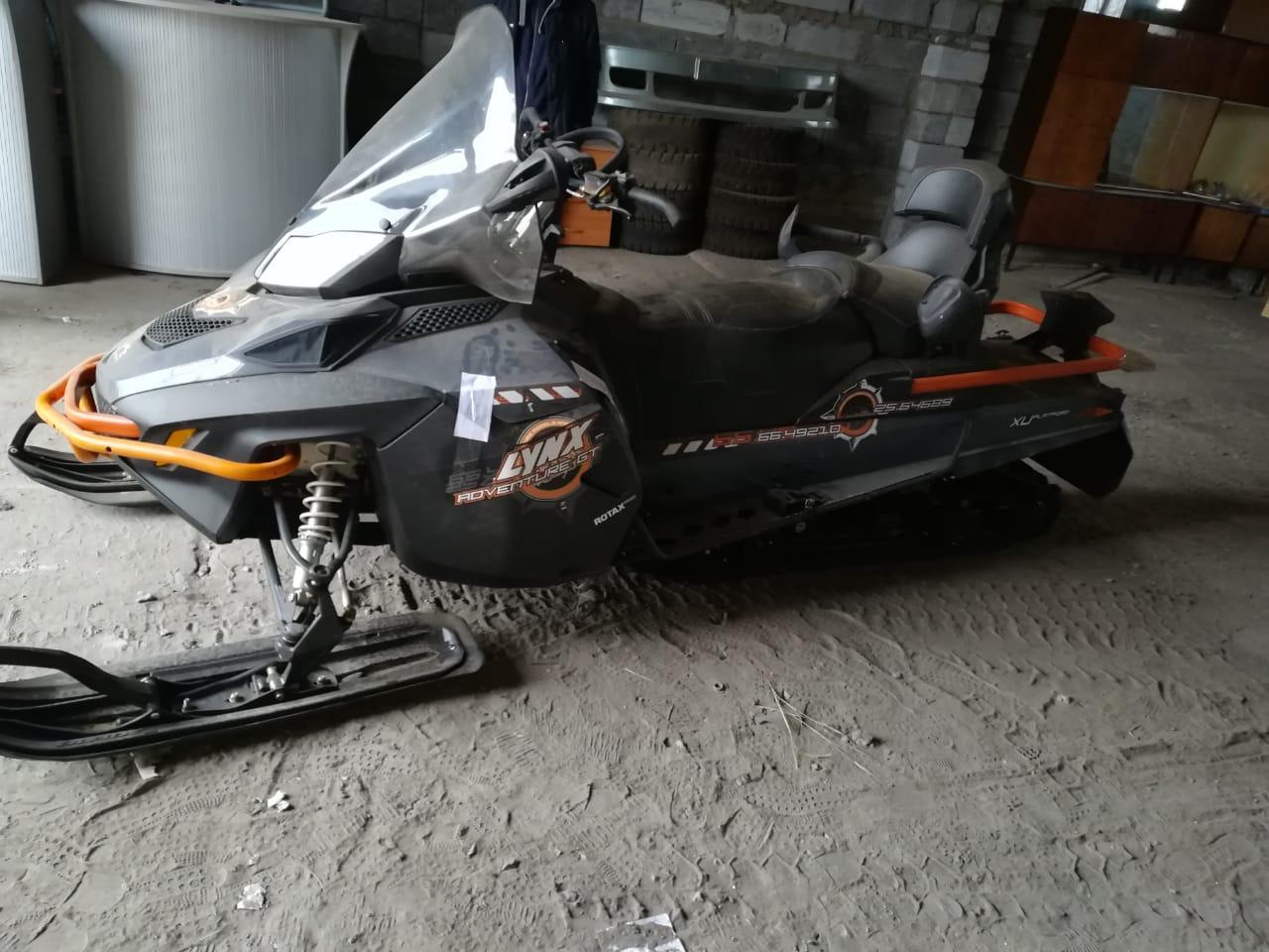 Житель Омской области въехал на снегоходе в заправку #Новости #Общество #Омск