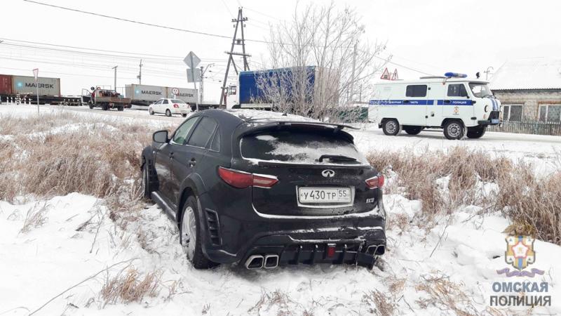У жителя Омской области угнали дорогую иномарку, купленную месяц назад #Омск #Общество #Сегодня
