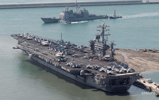 США оставили в Персидском заливе авианосец из-за угроз Ирана