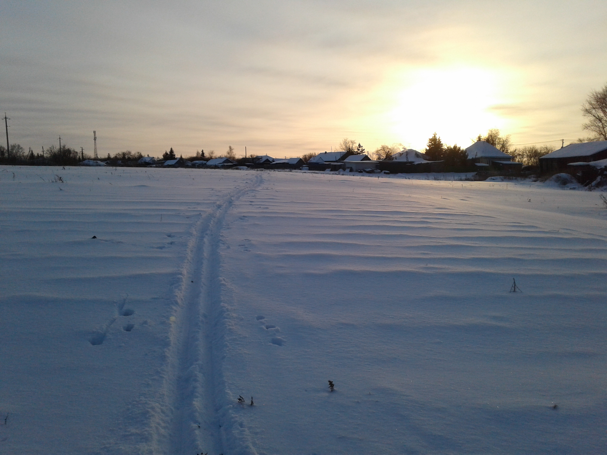 В Омской области температура упала ниже нормы #Омск #Общество #Сегодня