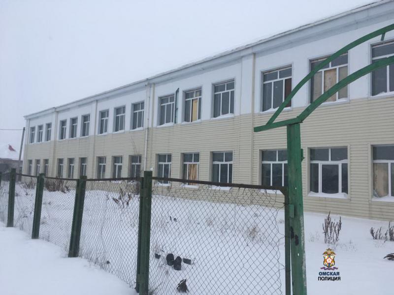 В Омской области из школы украли парты и сдали их в металлолом #Новости #Общество #Омск