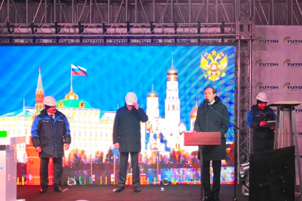 Мантуров запустил в Омске новое производство