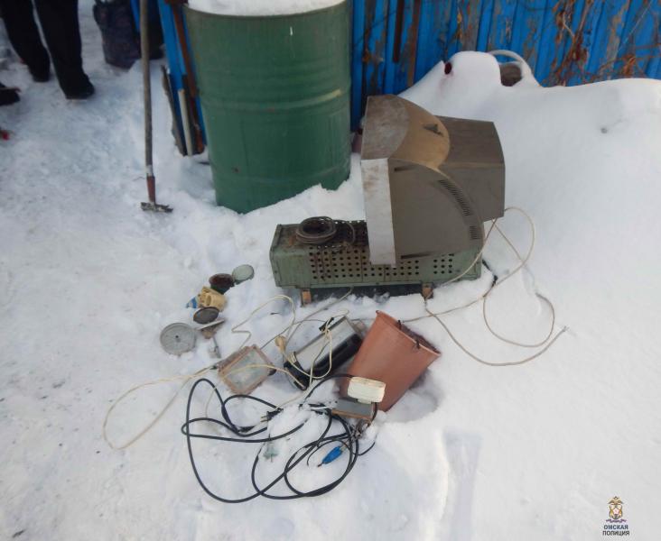 Омская пенсионерка лично скрутила дачного вора #Омск #Общество #Сегодня