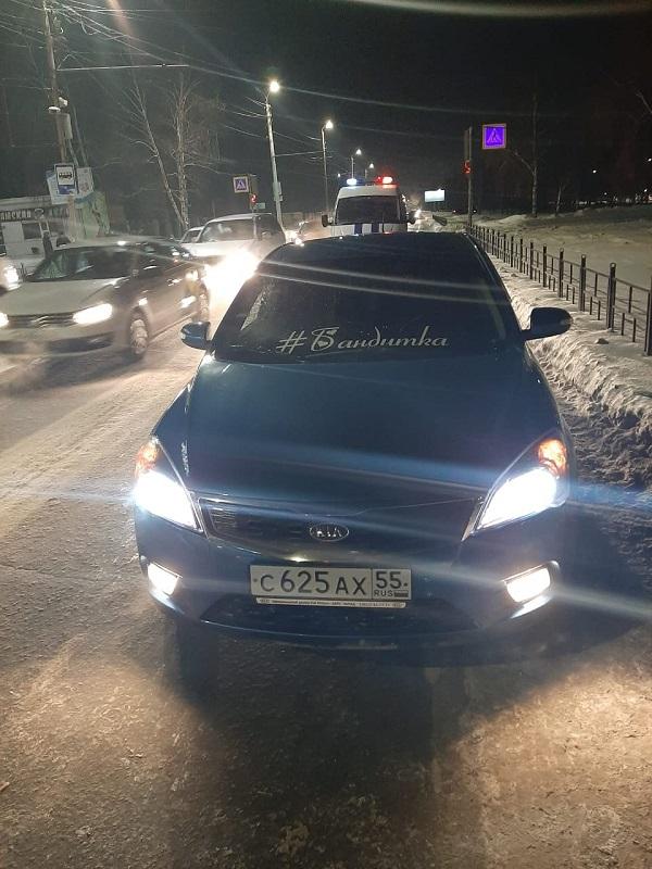 Появилось видео ДТП у парка, где молодой омич сбил женщину на переходе #Новости #Общество #Омск