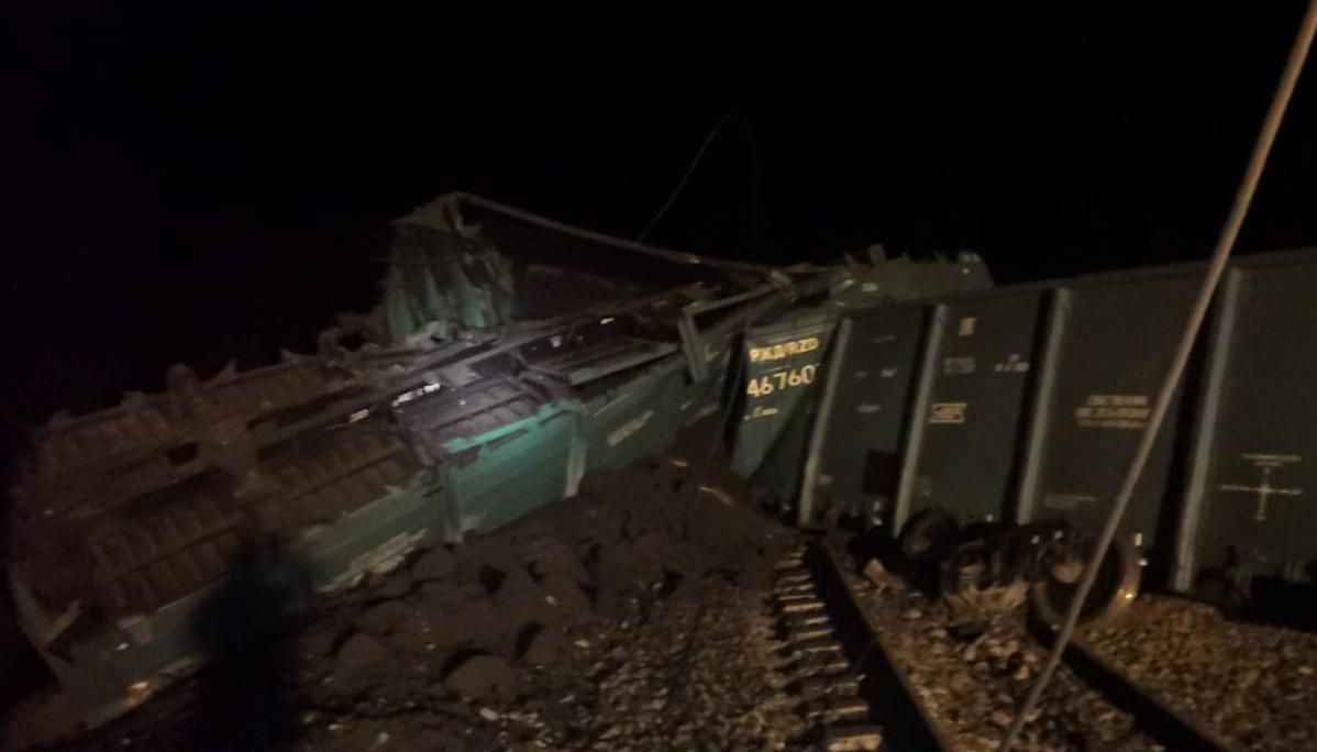 Из-за крушения состава с углем задерживается поезд, идущий в Омск #Омск #Общество #Сегодня