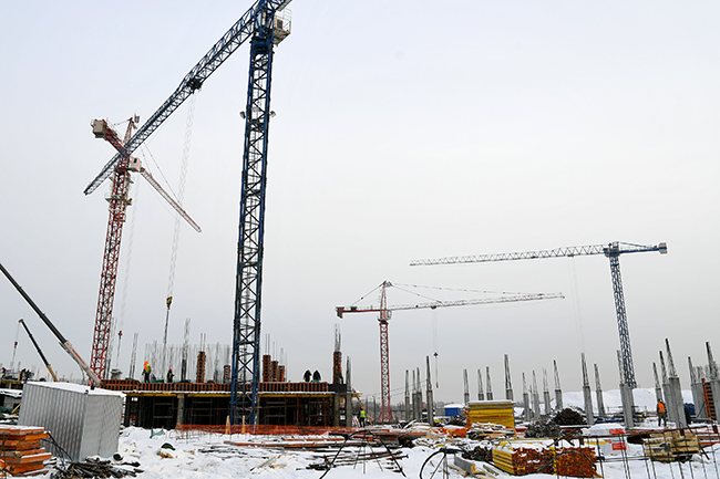 Замминистра обороны Евкуров посмотрел, как в Омске строят кадетский корпус #Омск #Общество #Сегодня