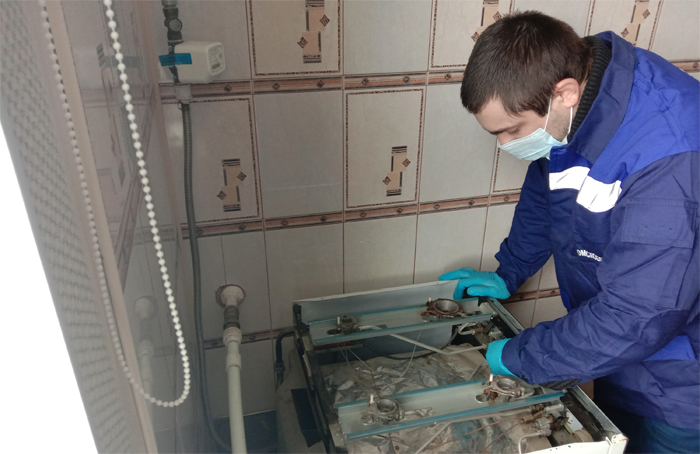 У 80 тысяч омичей проведут техническое обслуживание газового оборудования #Омск #Общество #Сегодня