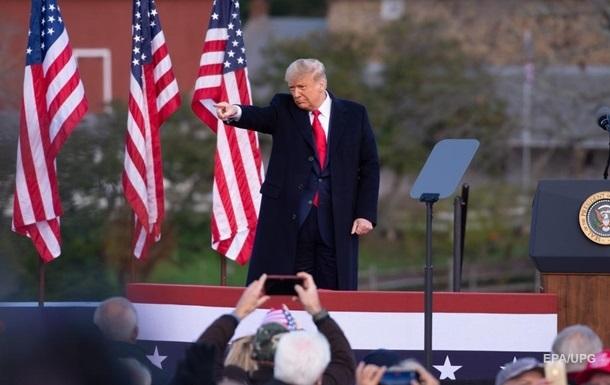 Трамп впервые за месяц выступит на публике