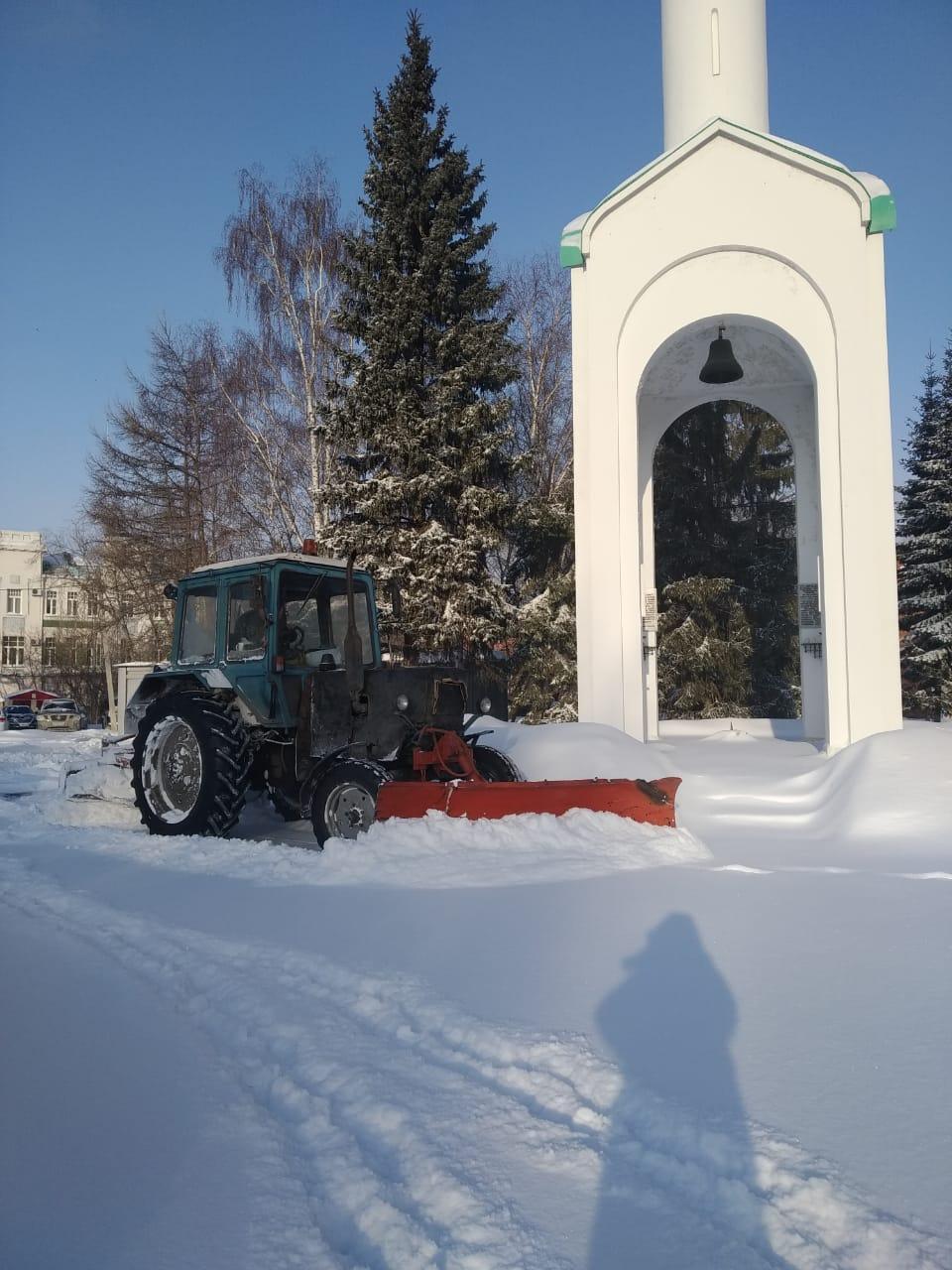 Снегопад в Омске прошел без коммунальных аварий – мэрия #Новости #Общество #Омск