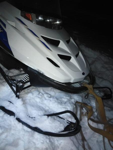 Житель Омской области перевернулся на снегоходе и получил тяжелые травмы #Новости #Общество #Омск