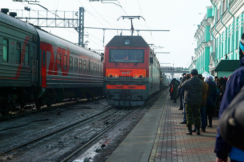 За сутки в Омской области от снега очистили 168 км железных дорог #Новости #Общество #Омск