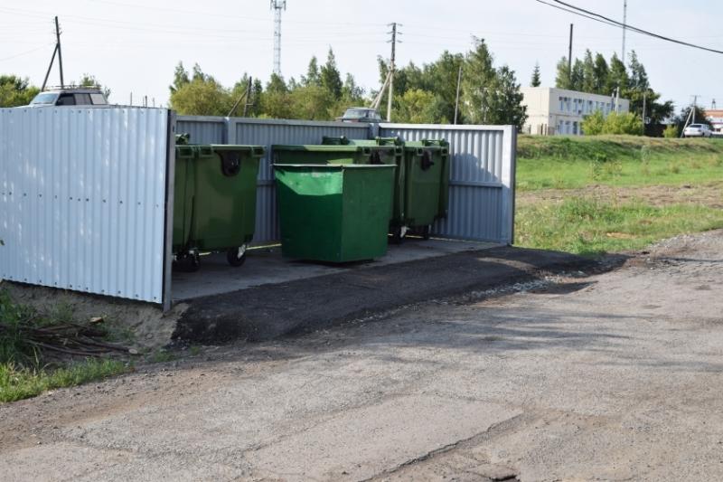 В Омске предложили изменить дизайн мусорных площадок #Новости #Общество #Омск