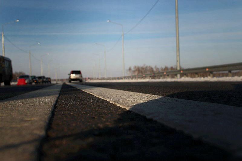 Под Омском начали ремонтировать федеральную трассу: на улице –30 градусов #Новости #Общество #Омск