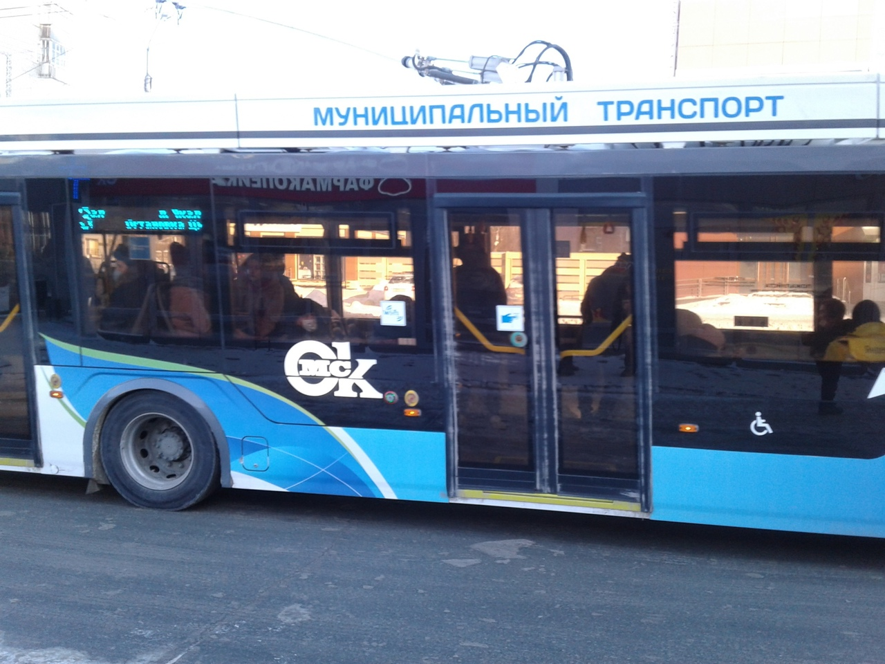 В Омске на новые «Адмиралы» стали наносить эмблемы и надписи #Новости #Общество #Омск