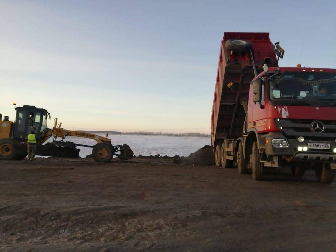 В Омской области зимой реконструируют дорогу за 200 миллионов #Новости #Общество #Омск