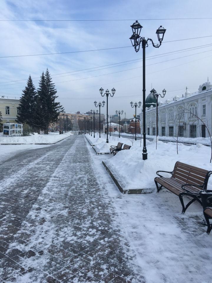 Омичам пообещали весеннюю погоду в первые дни марта #Омск #Общество #Сегодня
