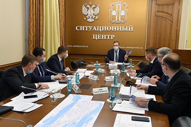 Бурков думает, за счет каких средств строить 15-километровую набережную в Омске #Новости #Общество #Омск