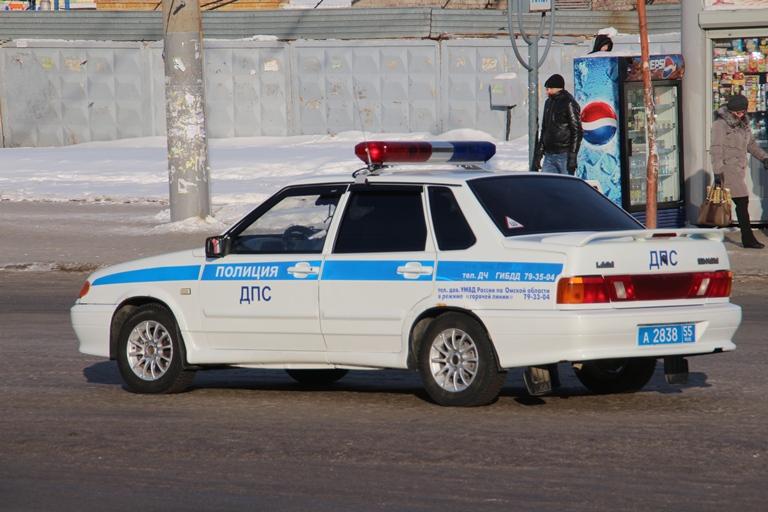 Омичка на иномарке въехала в автобус с пассажирами #Омск #Общество #Сегодня