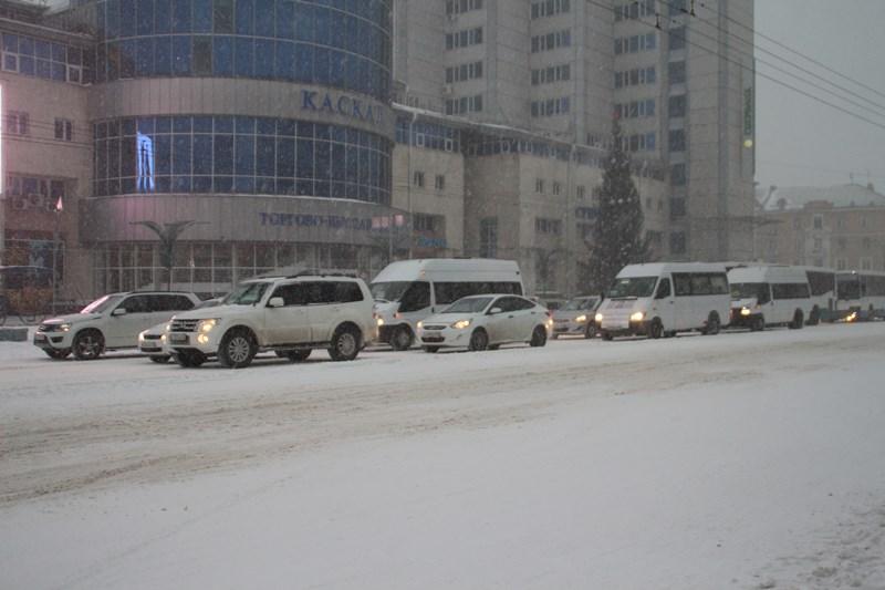 Снег в Омской области будет идти целую неделю #Новости #Общество #Омск