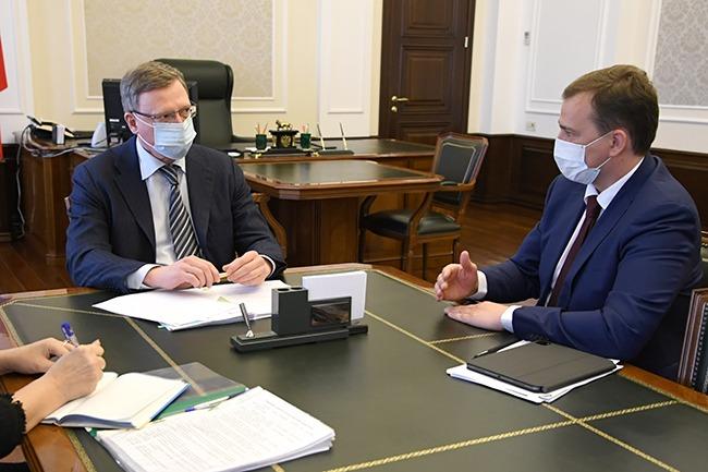Омский губернатор взял себе ученика #Омск #Общество #Сегодня
