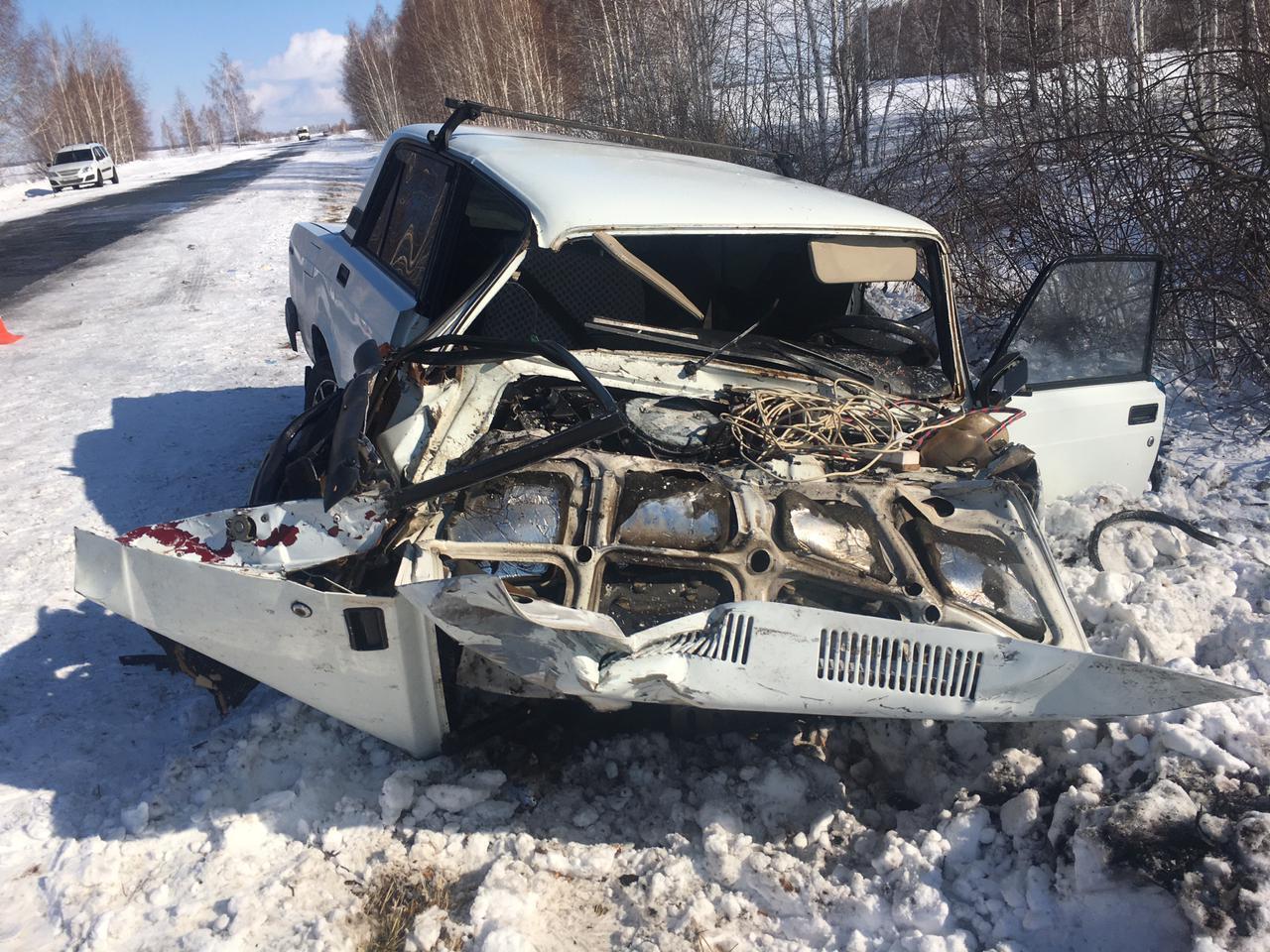 Омичка устроила ДТП на встречке с погибшим и четырьмя пострадавшими #Новости #Общество #Омск