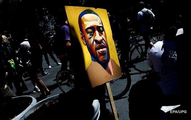 В США на месте гибели афроамериканца Флойда погиб человек