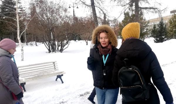 Перед 8 марта новый замминистра культуры провела для омичек экскурсию #Омск #Общество #Сегодня