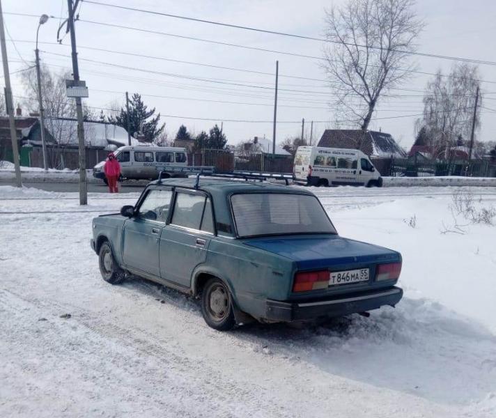 Омич угнал машину с помощью куска льда #Новости #Общество #Омск