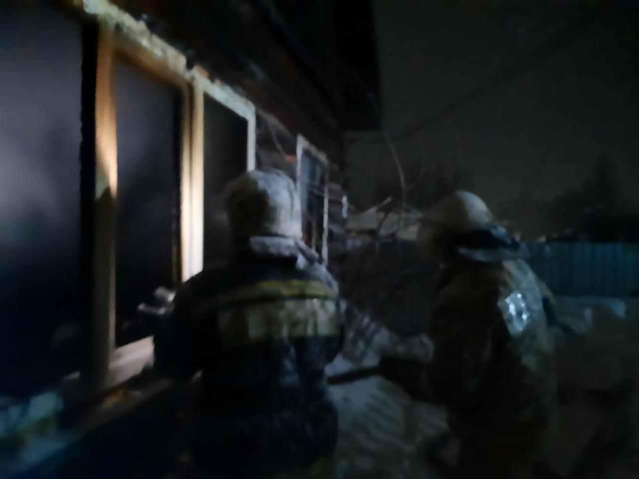Стали известны подробности пожара с гибелью детей в Омской области #Новости #Общество #Омск