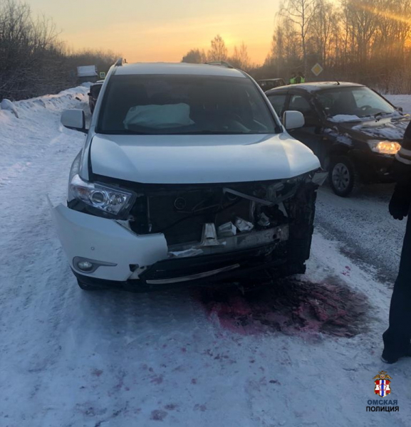 Омичка на «семерке» въехала во внедорожник и погибла #Новости #Общество #Омск