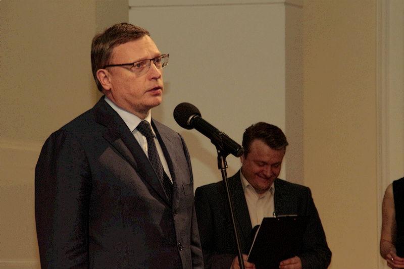 Бурков раздал награды многодетным матерям, олимпийскому чемпиону и артисту балета #Новости #Общество #Омск