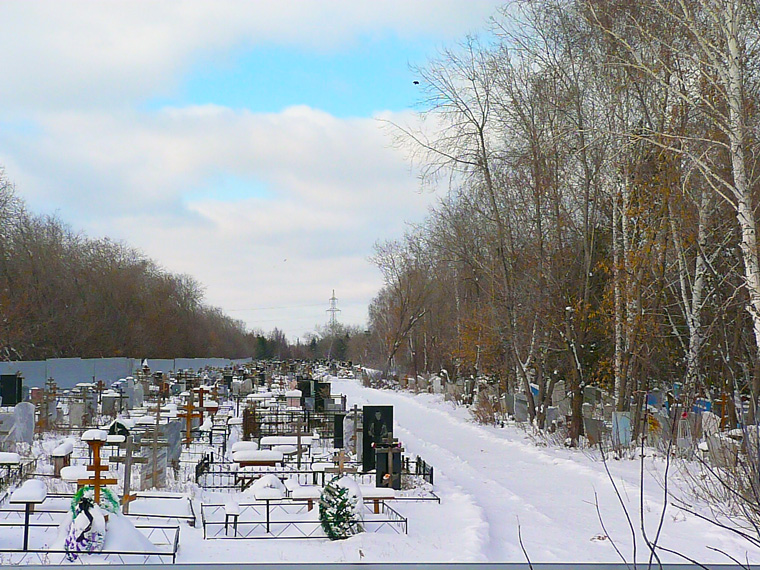 На кладбищах Омска к лету или осени не останется мест для захоронений #Омск #Общество #Сегодня