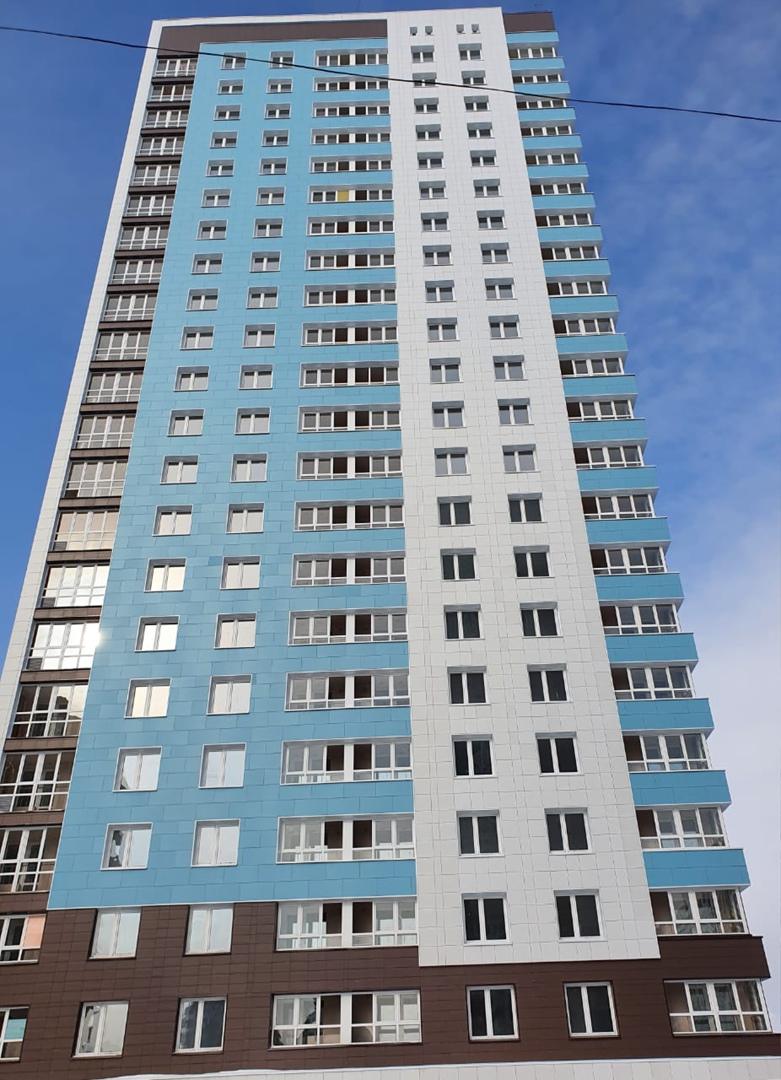 В Омске ввели в эксплуатацию новый 24-этажный дом #Омск #Общество #Сегодня