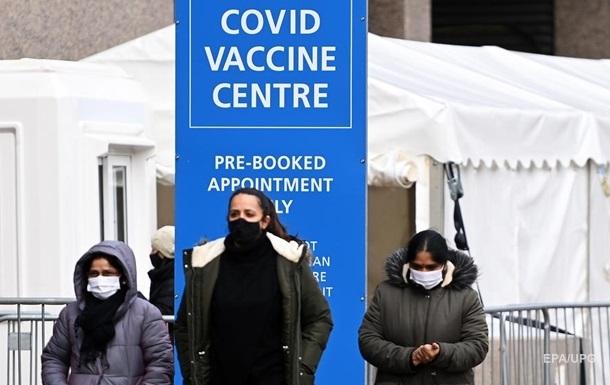 Британия к Пасхе намерена вакцинировать всех, кому за 40 - СМИ