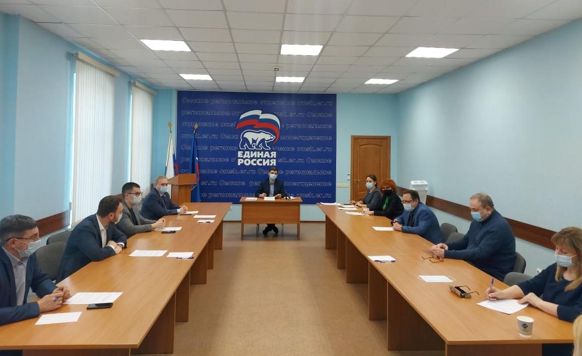 Омские единороссы начинают праймериз #Новости #Общество #Омск