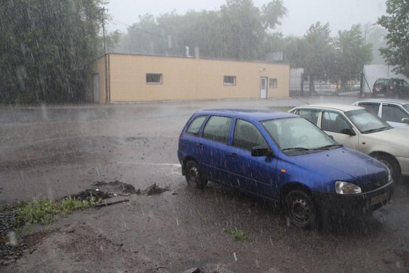 На выходных в Омске пройдет первый в 2021 году дождь #Омск #Общество #Сегодня