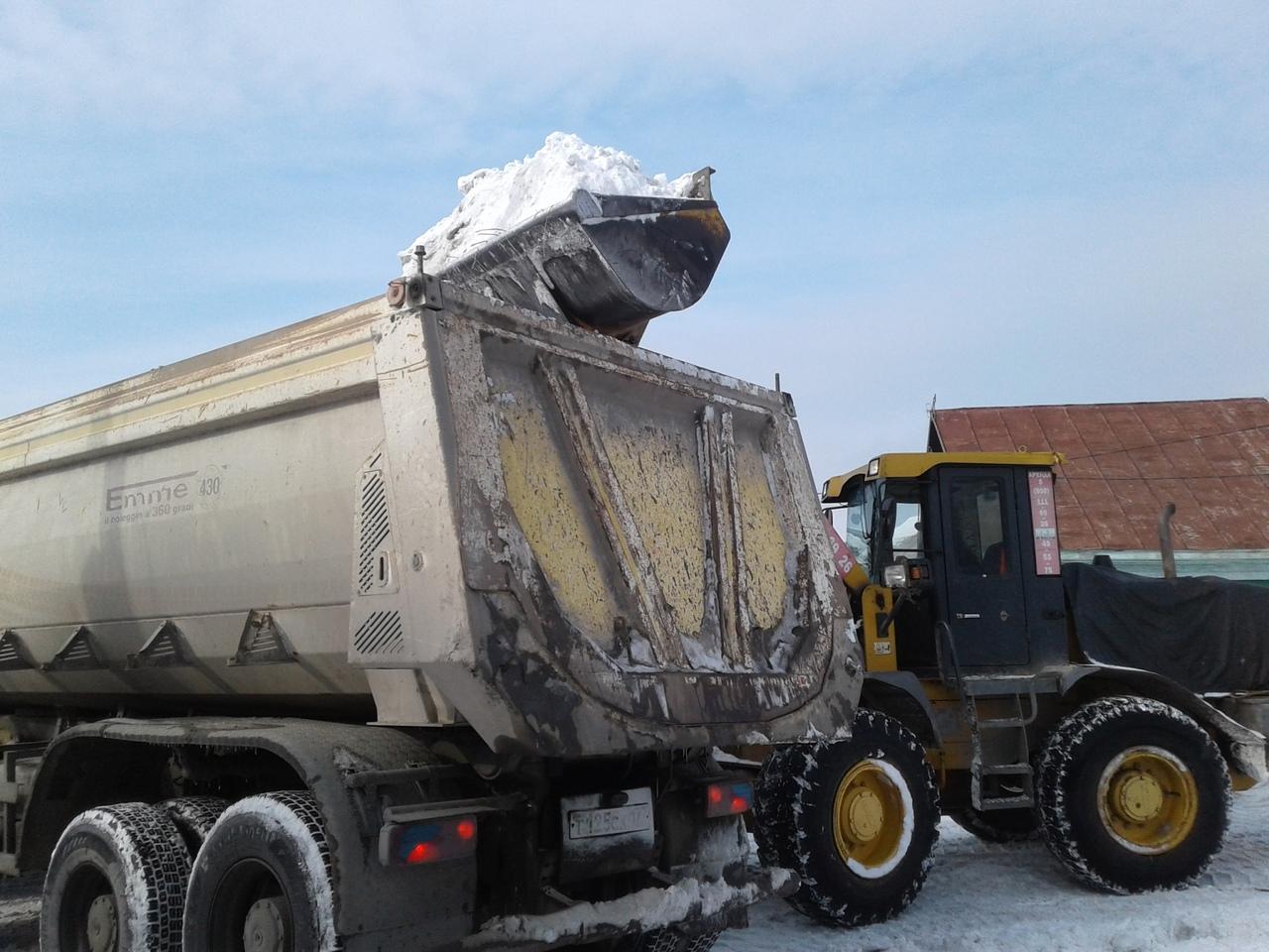 Из Омска вывезли 777 тысяч кубометров снега #Омск #Общество #Сегодня