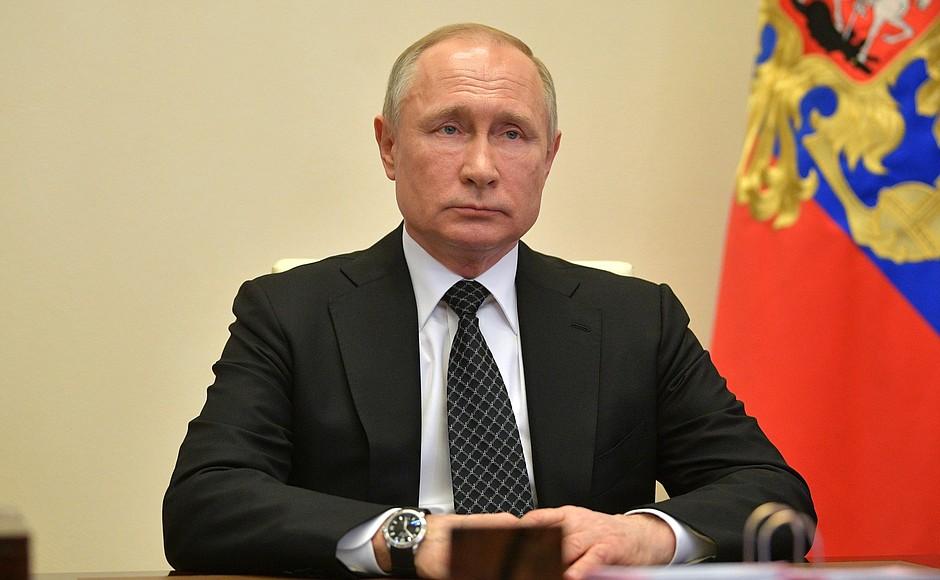 Путин заявил о продолжении пандемии коронавируса #Омск #Общество #Сегодня