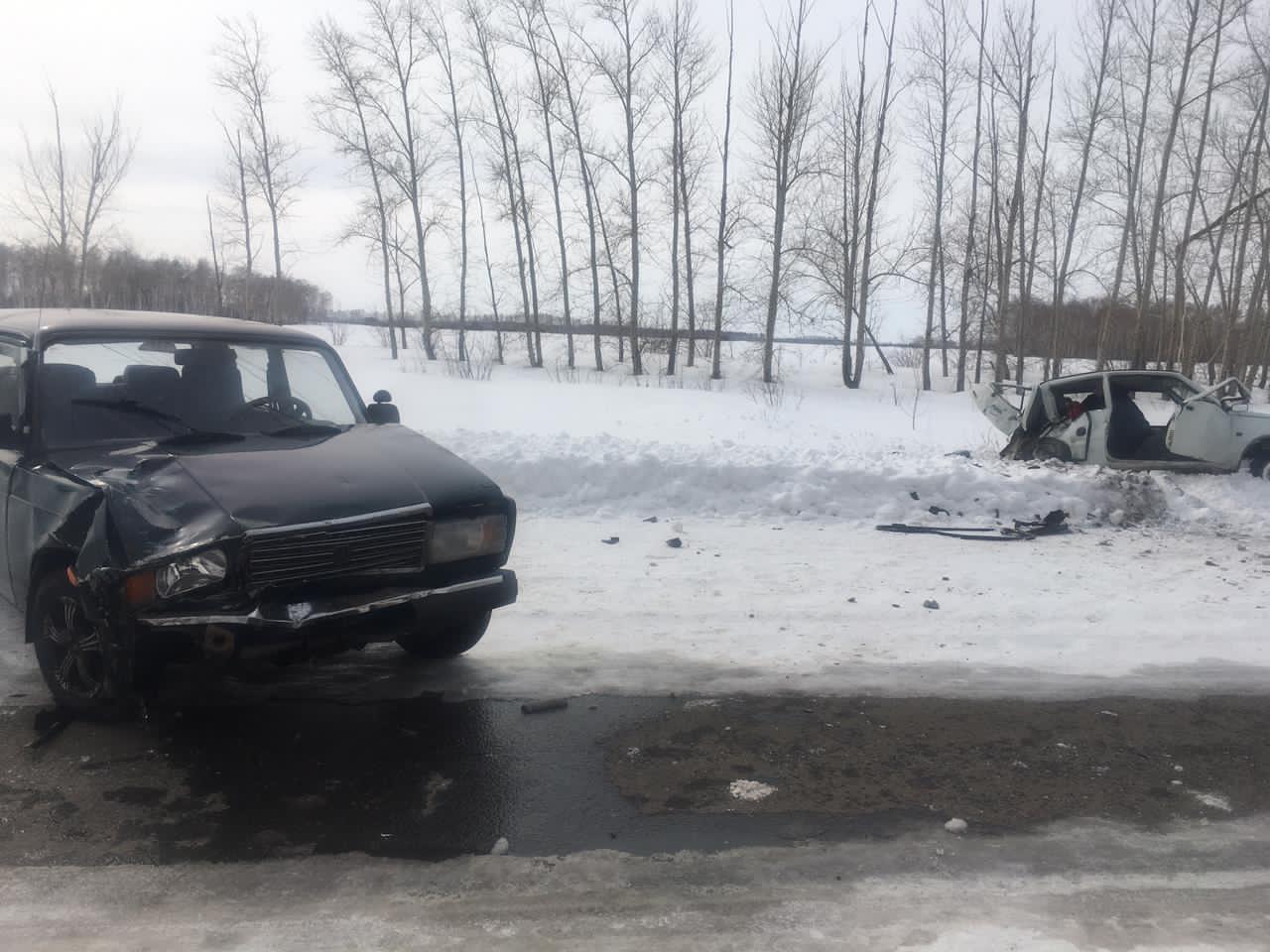 Пенсионер на «Оке» устроил страшное ДТП в Омской области #Омск #Общество #Сегодня
