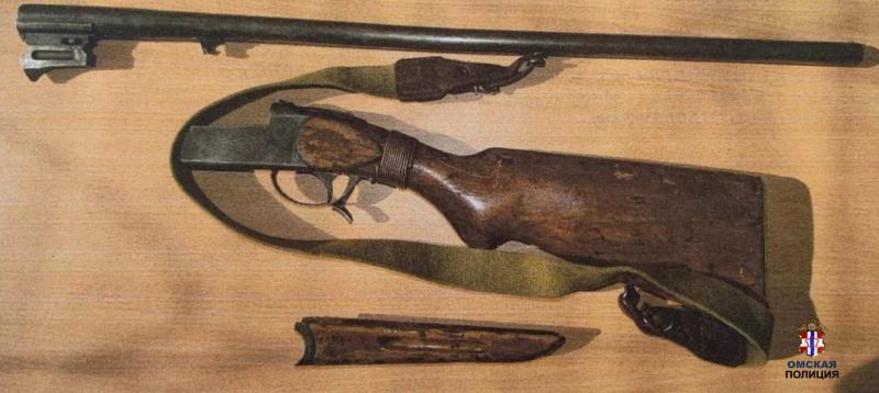 У омской вдовы украли ружье, которое она хранила в туалете #Новости #Общество #Омск