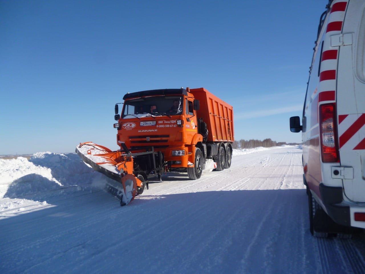 Омские дорожники намерены вывезти побольше снега перед паводком #Новости #Общество #Омск