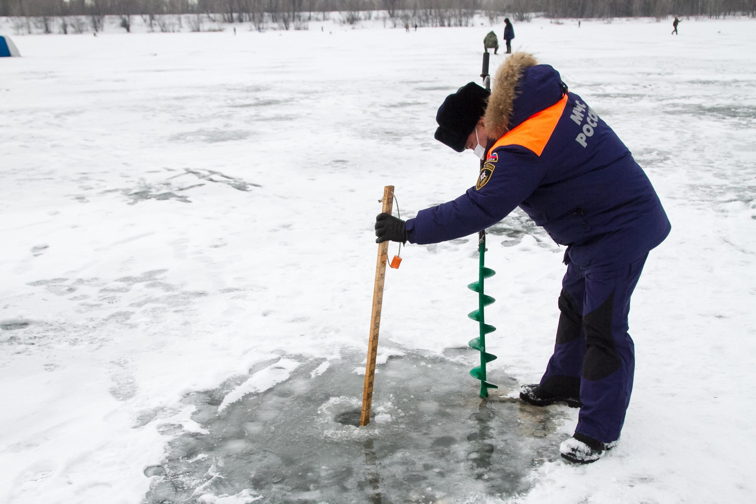 В МЧС просят омичей не выходить на весенний лед #Омск #Общество #Сегодня