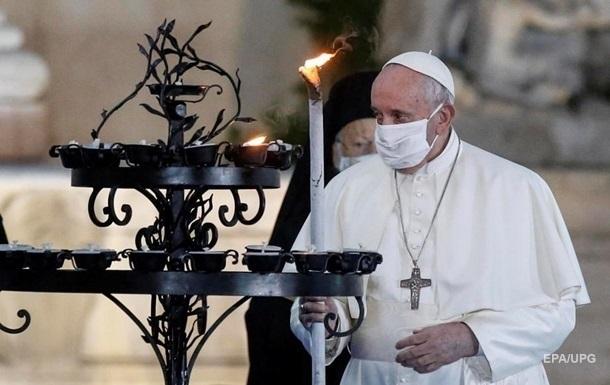 Папа Римский предупредил, что мафия старается нажиться на пандемии