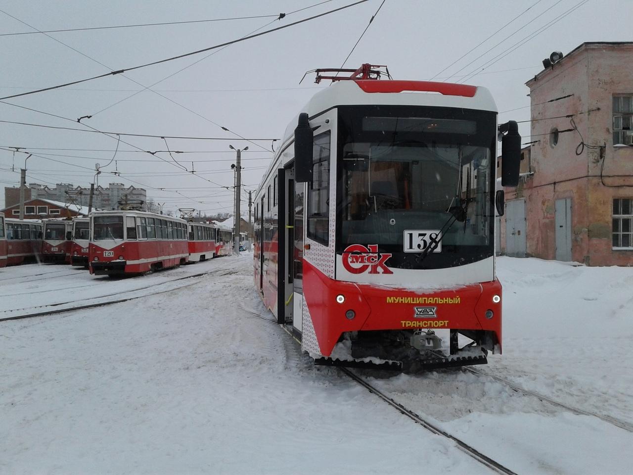 В Омске возникли помехи в движении трамваев #Омск #Общество #Сегодня